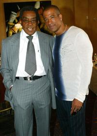 Don Cornelius and Dorian Gregory at the 10th Annual Soul Train Lady of Soul Awards Nominations.