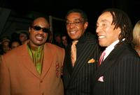 Stevie Wonder, Don Cornelius and Smokey Robinson at the 2005 TV Land Awards.