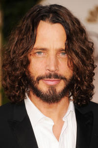 Chris Cornell at the 69th Annual Golden Globe Awards in California.