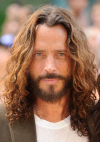 Chris Cornell at the premiere of