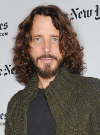 Chris Cornell at the New York Times TimesTalk during the 2012 NY Times Arts & Leisure weekend.