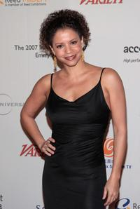 Gloria Reuben at the 35th International Emmy Awards Gala.