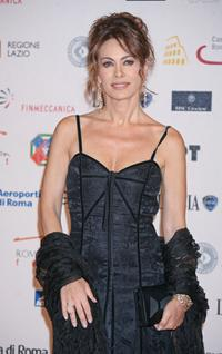 Elena Sofia Ricci at the Roma Fiction Fest 2008 Closing Ceremony and Diamond Awards.