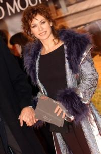 Elena Sofia Ricci at the Italian premiere of