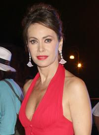 Elena Sofia Ricci at the Roma Fiction Fest 2008 dinner gala.