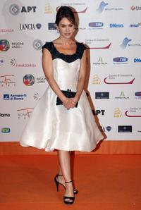 Elena Sofia Ricci at the Roma Fiction Fest 2008.