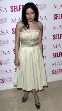 Andrea Corr at the VIP launch party for British couture label Marchesa's Spring/Summer 2006 collection.