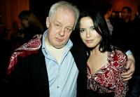 Jim Sheridan and Andrea Corr at the premiere of