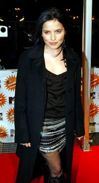 Andrea Corr at the MTV Europe Music Awards.