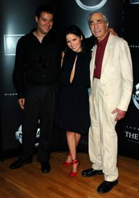 Richard Raymond, Andrea Corr and Len Fenton at the premiere of