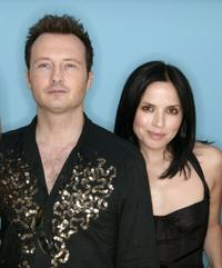Jim Corr and Andrea at the 95.8 Capital FM's Party.