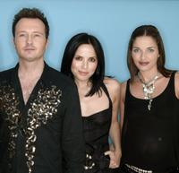 Jim Corr, Andrea and Caroline at the 95.8 Capital FM's Party.