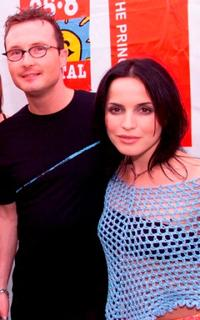 Jim Corr and Andrea Corr at the Capital FM's Party.