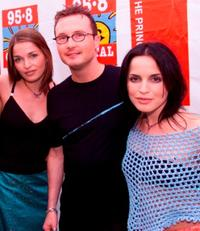 Caroline Corr, Jim Corr and Andrea Corr at the Capital FM's Party.