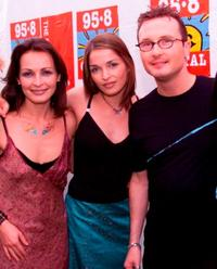 Sharon Corr, Caroline Corr and Jim Corr at the Capital FM's Party.