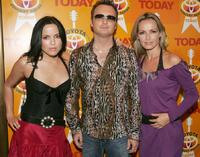Andrea Corr, Jim Corr and Sharon Corr at the 2004 Toyota Concert Series.