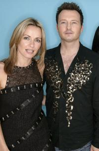 Sharon Corr and Jim Corr at the 95.8 Capital FM's Party.