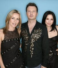 Sharon Corr, Jim Corr and Andrea at the 95.8 Capital FM's Party.