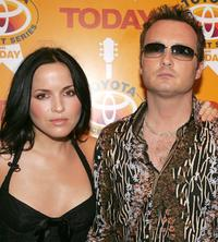 Andrea Corr and Jim Corr at the 2004 Toyota Concert Series.