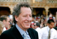 Geoffrey Rush at the Anaheim premiere of