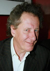 Geoffrey Rush at the after show party following the opening night of his play