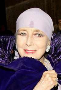 Valentina Cortese at the Teatro Alla Scala 2009 / 2010 Season Inauguration in Italy.