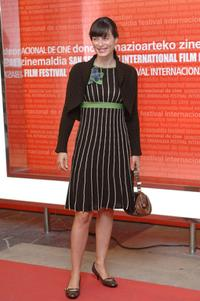 Aitana Sanchez Gijon at the 53rd San Sebastian International Film Festival.