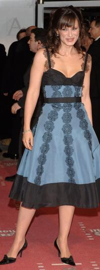 Aitana Sanchez Gijon at the Goya Cinema Awards 2006.