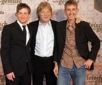 Maxim Mehmet, Christian Goerlitz and Andreas Schmidt at the premiere of