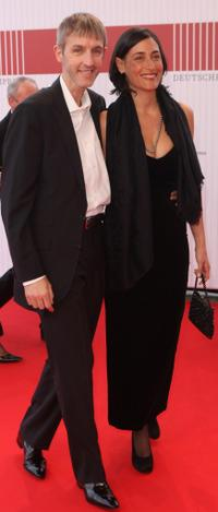 Andreas Schmidt and Jennifer at the German Film Award 2008 (Deutscher Filmpreis 2008).