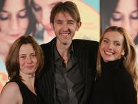 Inka Friedrich, Andreas Schmidt and Nadja Uhl at the premiere of