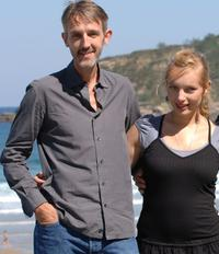 Andreas Schmidt and Nadja Uhl at the photocall of