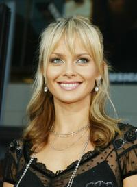 Izabella Scorupco at the premiere of