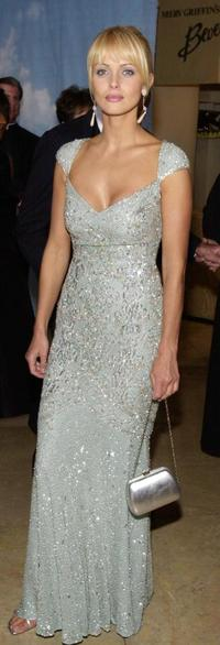 Izabella Scorupco at the Carousel of Hope Ball benefiting The Barbara Davis Center for Childhood Diabetes.
