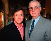 Bob Costas and Bill Rollnick at the screening of