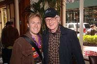 Ian McCrudden and Mickey Cottrell at the director's brunch during the 2007 Tribeca Film Festival.