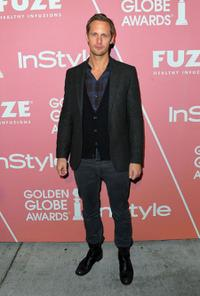 Alexander Skarsgard at the 2nd Annual Golden Globes Party.