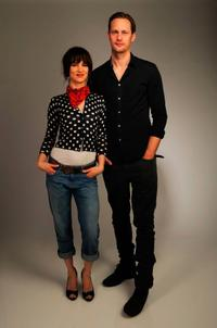 Juliette Lewis and Alexander Skarsgard at the Tribeca Film Festival 2010.