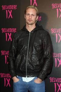 Alexander Skarsgard at the Belvedere IX Launch Party.
