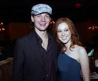 Gregory Smith and Stephanie Sherrin at the premiere of