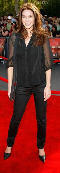 Kim Smith at the premiere of