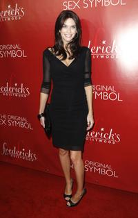Kim Smith at the Frederick's of Hollywood Fall 2007 Collection debut.