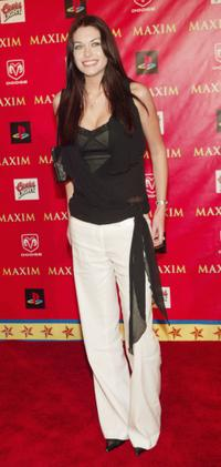 Kim Smith at the Maxim Magazine's Circus Maximus party.