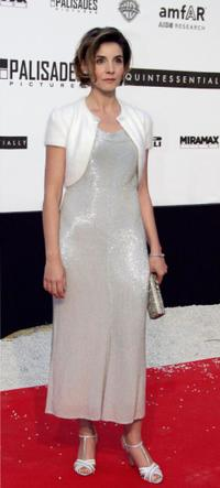 Clotilde Courau at the American Foundation for AIDS Research (AMFAR)