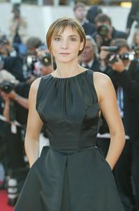 Clotilde Courau at the screening of