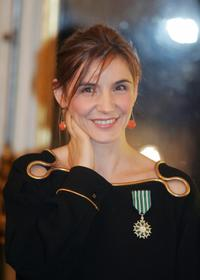 Clotilde Courau at the culture ministry.