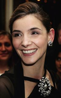 Clotilde Courau at the Gala dinner.