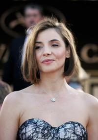 Clotilde Courau at the official projection of