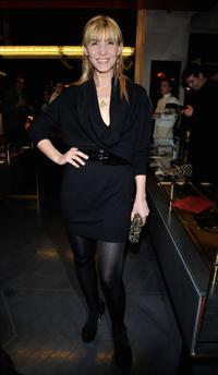 Clotilde Courau at the opening of a new YSL store.