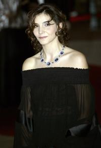 Clotilde Courau at the performance of Rossini's opera the